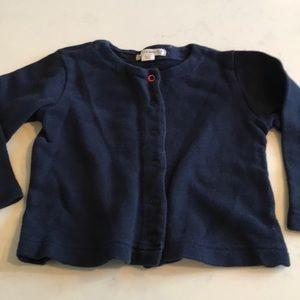 J. Crew Shirts & Tops - J. Crew baby Snap cardigan sweater